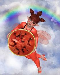 Pummelfee mit Wassermelone von Conny Dambach