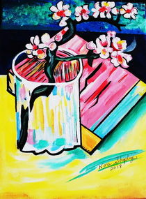 ALMOND BLOSSOMS by Nora Shepley
