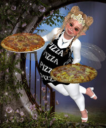 Pummelfee bringt Pizza von Conny Dambach