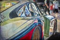 Moby Dick Porsche Whale Tail von Stuart Row