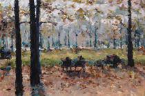 Herbst im Park by Reinhard F. Maria Wiesiollek