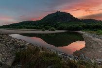 Sonnenaufgang am Drachenfels von Frank Landsberg