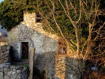 Stone House Facade, Ruins, Bosnia & Herzegovina by bebra