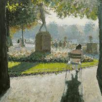 Shadows I - Jardin du Luxembourg von Reinhard F. Maria Wiesiollek