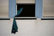 Verwehte Gardine by Bastian  Kienitz