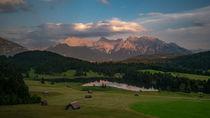 Alpenpanorama by Dennis Heidrich