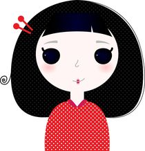 CUTIE Little geisha look by Jana Guothova