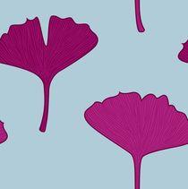 design gingkos - pink von Jana Guothova