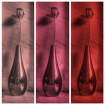 Rose Triptych in Red by Colin Metcalf