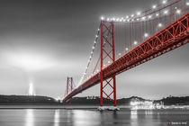Ponte 25 de Abril, Lissabon [COLORKEY] von Sandro S. Selig