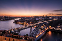 Porto at sunset ????????  HDR by Sandro S. Selig