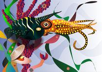 Meeresphantasie von Peter Wall