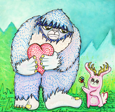 The-bigfoot-and-the-jackalope-by-laura-barbosa