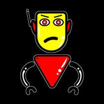 Robot Security Guard by Vincent J. Newman