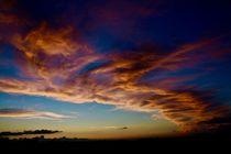 Wolkenimpression von Ingrid Bienias