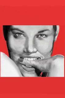 Jessica Biel Digital Airbrush von Jeff Roffey