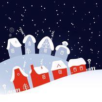 cutie wint. silhouette homes by Jana Guothova