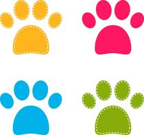 cutie dogie paws by Jana Guothova