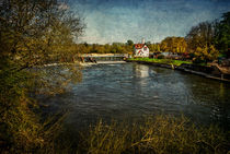 Goring on Thames Weir by Ian Lewis