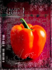 Paprika-1 von Edgar Emmels