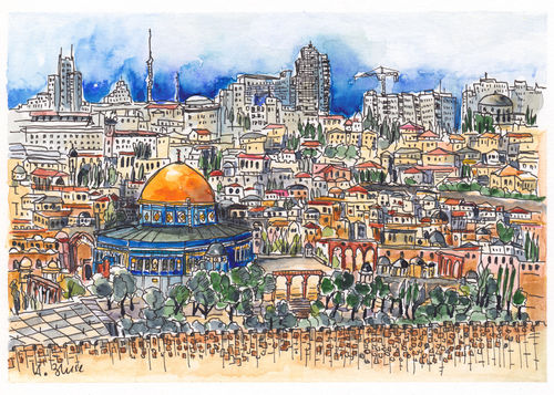 Blick-vom-olberg-auf-jerusalem