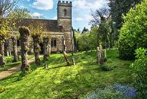 Shipton on Cherwell Church von Ian Lewis