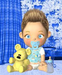 Baby Junge Boy von Conny Dambach