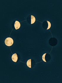 Moon Phases by Sybille Sterk