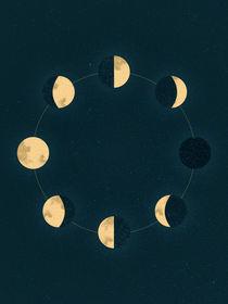 Moon Phases von Sybille Sterk