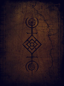 Protection rune by Sybille Sterk