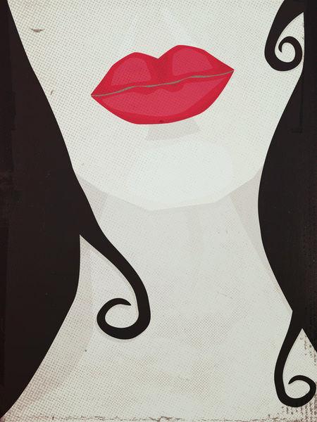 Redlipsblackhair-c-sybillesterk