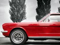 US Autoklassiker Mustang 289 1966 von Beate Gube