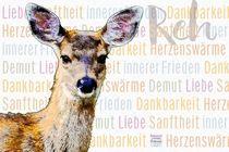 Reh - innerer Frieden by Astrid Ryzek