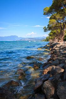 Gardasee - Promenade in Lazise von Stephan Hockenmaier