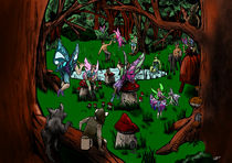 Fairy Party von MikeJimmy de Bruin