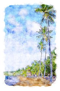 Caribbean Coast by cinema4design
