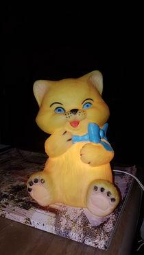 Cat lamp von Talita Muniz