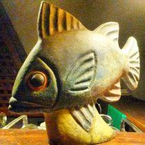 Wooden fish by Talita Muniz