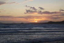 Newgale sunset by Mark Rosser