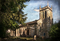St Nicholas Church Sulham von Ian Lewis
