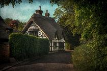 A Berkshire Half Timbered Cottage von Ian Lewis