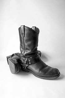 STUDIO. Eagle Harness Boots. by Lachlan Main