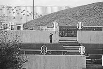 MORECAMBE. Arena Steps. by Lachlan Main