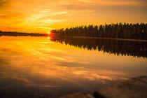 Goldener Sonnenuntergang von Robin Brock