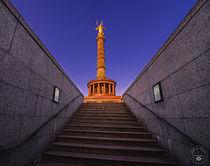 Treppenaufgang zur Siegessäule von Oliver Hey