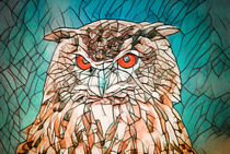 Owl Portrait by AD DESIGN Photo + PhotoArt