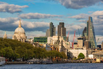 London Skyline mit St. Pauls Cathedral  von AD DESIGN Photo + PhotoArt