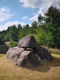 Dolmenanlage Lindeskov Hestehave, Fünen, Dänemark by dresdner