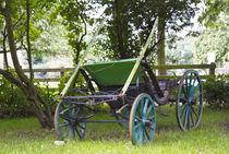 Landwirtschaft. Alte Kutsche. von fischbeck