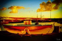 Still Boat ....... by Sandra  Vollmann